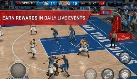 NBA Live Mobile游戏截图2