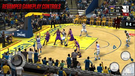 NBA2K17手机版游戏截图1